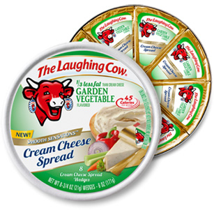 Laughing Cow Vegetable Cream Cheese