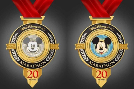 Walt Disney World Marathon 2013 Medal
