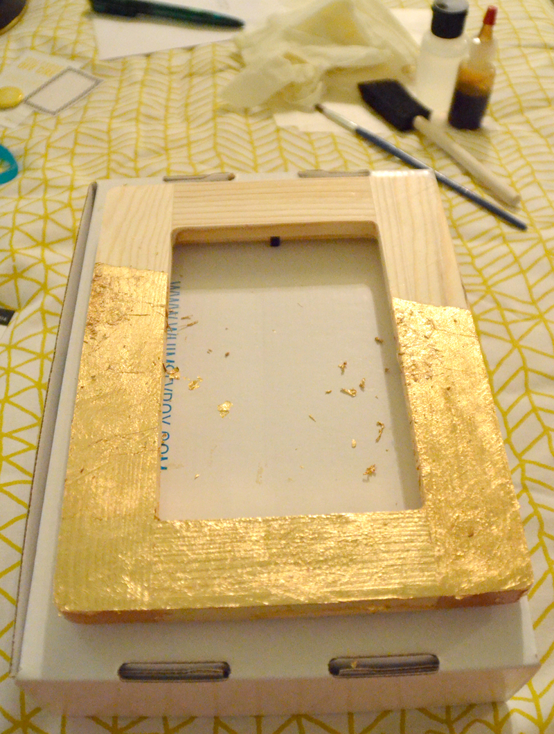 Gold Leaf Frame | The Simple Things