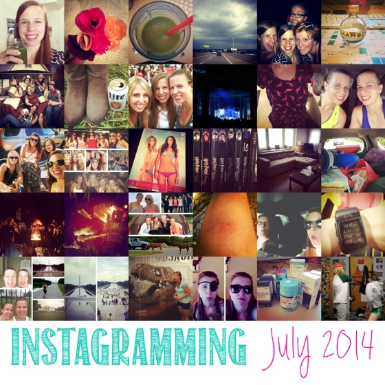 Instagramming July