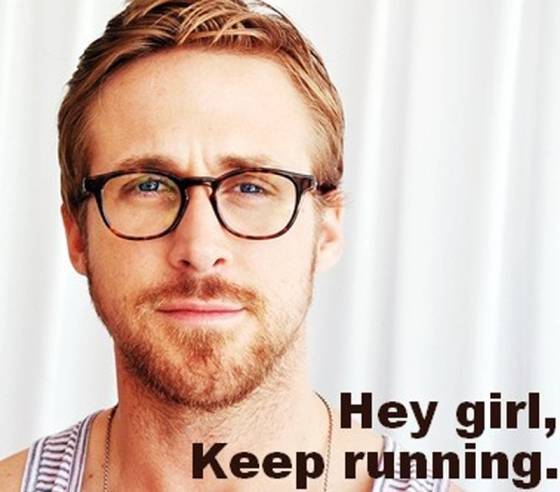Ryan Gosling Running