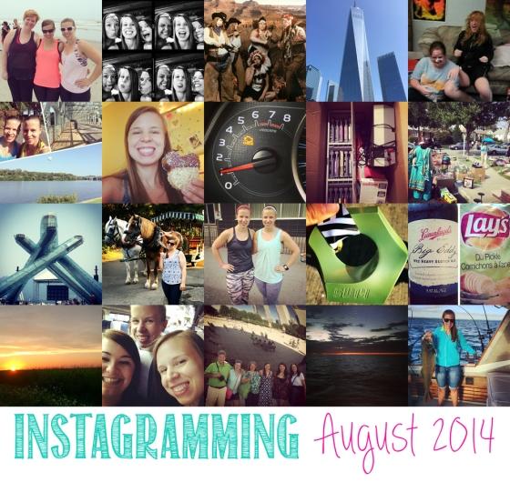 Instagramming August 2014