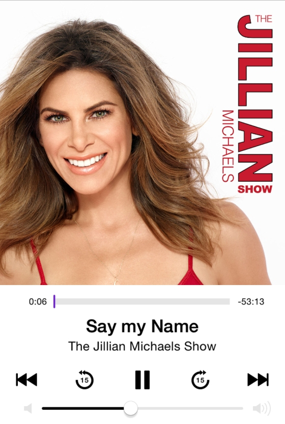 Jillian Michaels Podcast