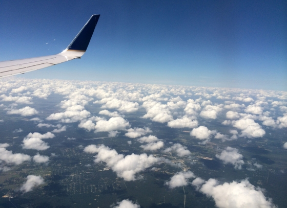 Flying to Wisconsin