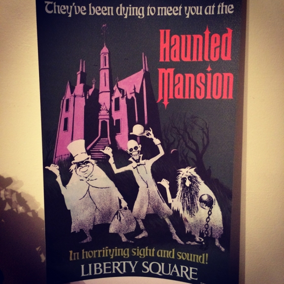 Haunted Mansion Attraction Poster
