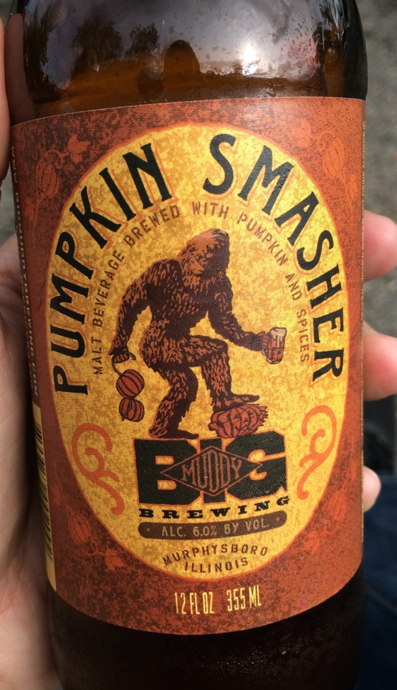 Pumpkin Smasher Beer