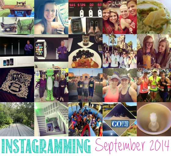 Instagramming September