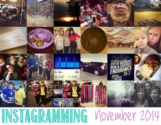 Instagramming November