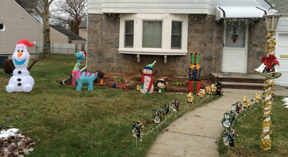 Outside decorations