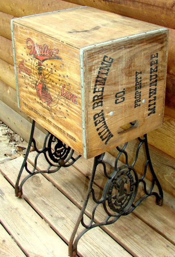 08 Beer Crate Table
