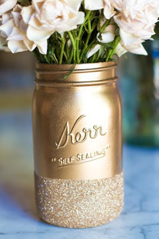 14 Mason Jar Vase