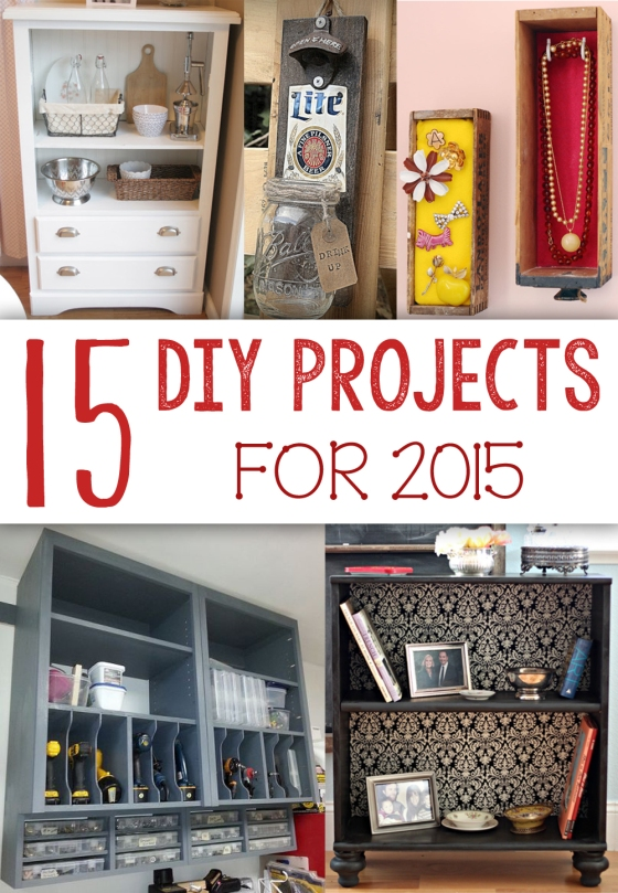 15 DIY Projects for 2015