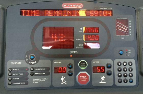 Dreadmill Running