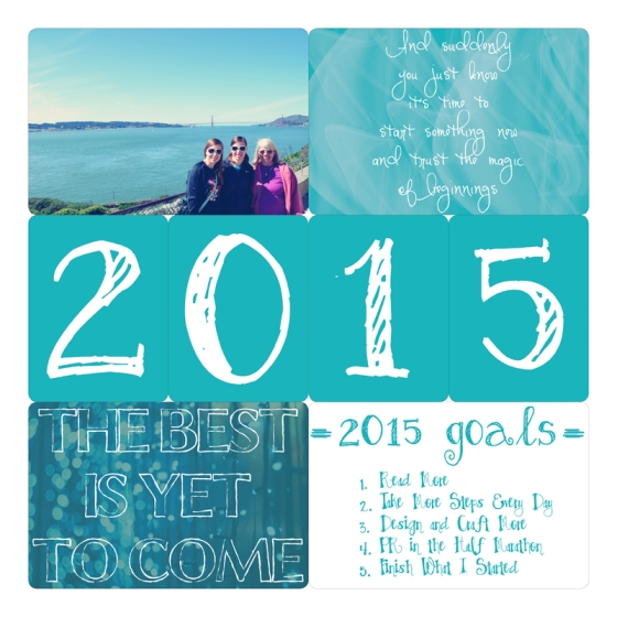 Project Life 2015 Page 1