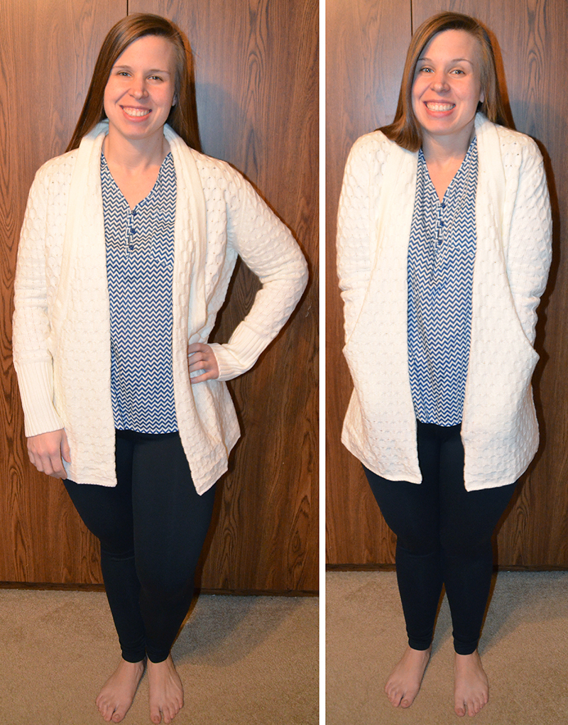 Brixon Ivy Lawley Cable Knit Open Cardigan | The Simple Things