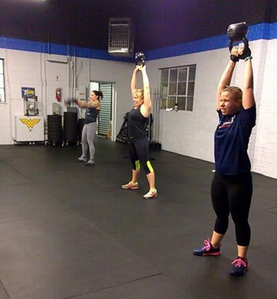 Crossfit - Kettlebell Swings