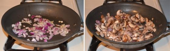 Ham and Mushroom Crustless Quiche
