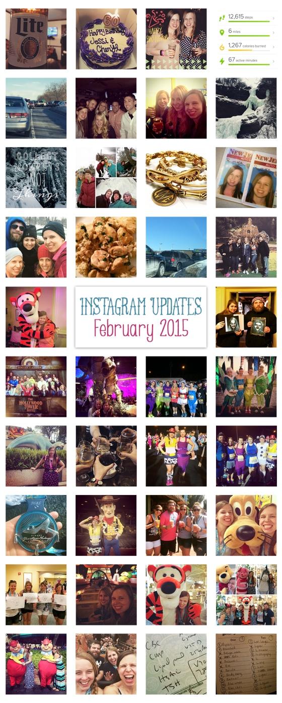 Instagramming February