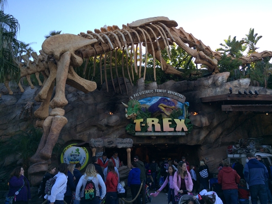 T-Rex Restaurant Review