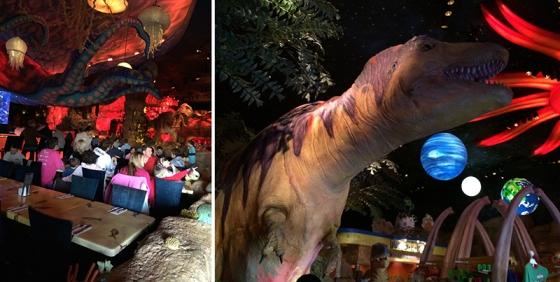 T-Rex Restaurant Review