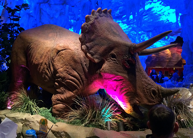 T rex restaurant review the simple things for Restaurant t rex