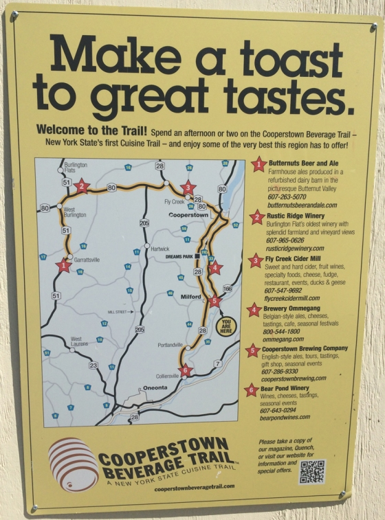 Cooperstown Beverage Trail
