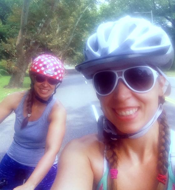 Biking the Schuylkill