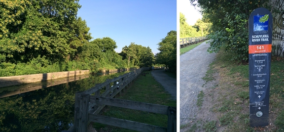 Running the Towpath