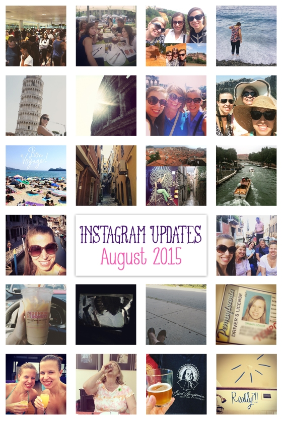 Instagramming August