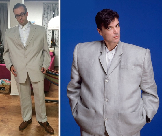 David Byrne Big Suit