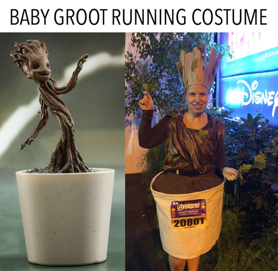 Baby Groot Running Costume