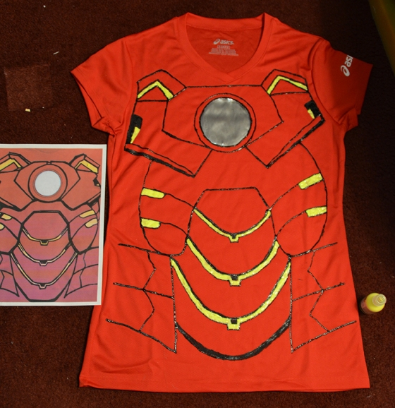 Ironman Running Costume