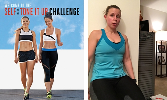 Self X Tone It Up Challenge