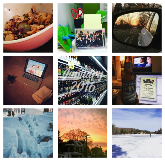 Instagramming January 2016