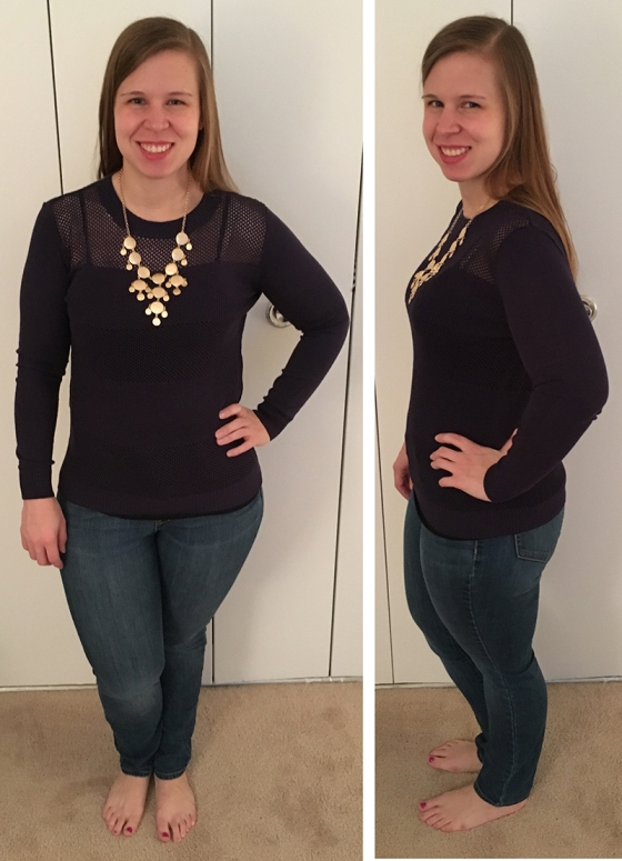 March Top and Necklace